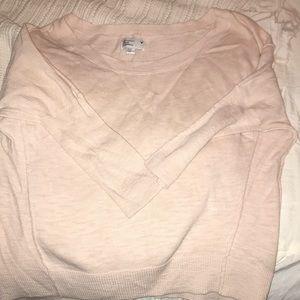 Xs American Eagle light pink sweater